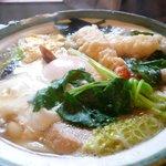 麺坊 万作 - 鍋焼きうどん