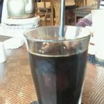 カフェ食堂 あおぞら - アイスコーヒー ¥420