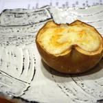 25312536 - フジリンゴのクリーム焼き
