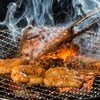 Gekiumahorumondamashii - 料理写真:七輪で焼いて食べるホルモン!