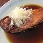 石廊館 - 料理写真:下田産の金目鯛の姿煮(夕食)
