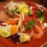 すし処 銀座鮨 - お造り盛り合わせ
