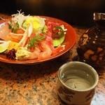 すし処 銀座鮨 - お造りには燗酒