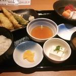 25316979 - 刺身天ぷら定食