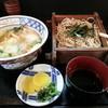 博多そば処 うえ村 - 料理写真:しめじ丼セット。