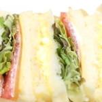 レガル - 野菜サンドのアップ '14 3月中旬