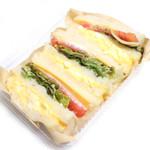 レガル - 野菜サンド (420円) '14 3月中旬