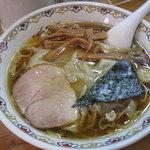 春木屋 - ワンタン麺:1200円