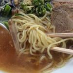 らーめんのくち - 中細麺