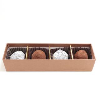 マルナカ菓子店 - トリュフ (4個入) (650円)  '14 2月中旬