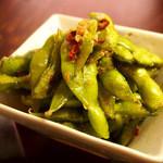 アジアンバル BOTE - 枝豆のぺペロンチーノ