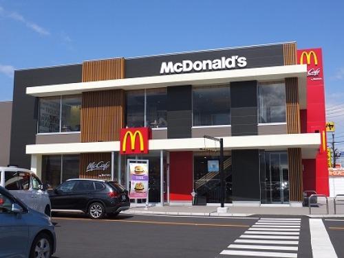 マクドナルド 33号松山インター店