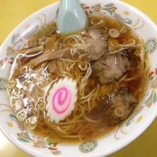 五十番 - チャーハンセットのラーメン(1,000円)2014年3月