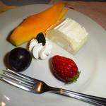 金蘭荘 花山 - 料理写真:デザート