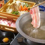 麹蔵 - 料理写真:鹿児島黒豚塩しゃぶしゃぶ