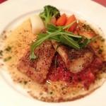 レストラン クレール - メイン 平目のプロヴァンス風