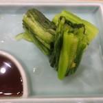 てっ平 - 広島菜です。