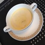 25326187 - ランチコース クルーズ(2,625円)の「野菜のクリームスープ」2013年3月