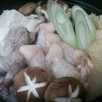 ゆるり家 - 盛り沢山の素材を鶏ガラ味噌スープでどうぞ。ボリュームも満点です(冬季限定)。