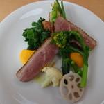 ボータン - フランス産鴨胸肉のソテー