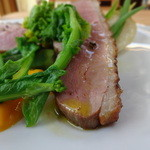 ボータン - フランス産鴨胸肉のソテーの鴨アップ