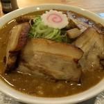 R - 特性中華そば850円+煮豚350円