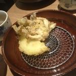 25327654 - しめじと玉ねぎの天ぷら