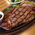 けん - スジと脂身たっぷりのステーキ。