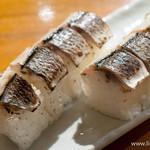 独楽 - 〆サンマの炙り棒寿司【2013年11月】