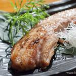 独楽 - もち豚の自家製ベーコン【2013年11月】