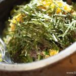 独楽 - 石焼瓦蕎麦【2013年11月】