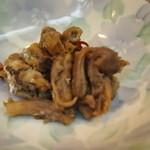 和加松 - アナゴの肝煮