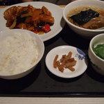 2533154 - 酢豚&半ラーメン定食
