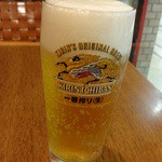 大崎一番家 - 生ビール:280円