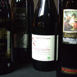 フランス直送の蔵元ワインもございます!!