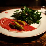 ローブリュー - 生ハム&クレソンのサラダ