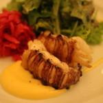 レストラン ビブ - ロブスターのソテー ゆで卵マヨネーズ(+500円)