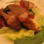 レストラン ビブ - 熊本赤毛和牛のリブロース(+1000円)