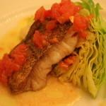 レストラン ビブ - タラのムニエル