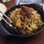 カフェ ド スイドウチョウ - 野菜炒め