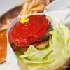 DOG CONCIERGE & COMMUNITY - 料理写真:ハンバーガー【2013年11月】