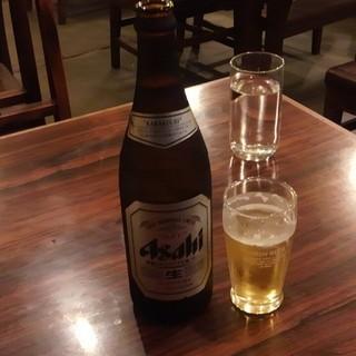更科 - ドリンク写真:瓶ビール