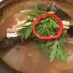 ワンシンリ - 貝鍋1,280円