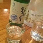 ワンシンリ - チャミスル580円