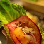 ベジピッグ - 葉野菜&根菜スライスとサムギョプサル