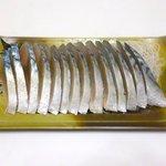 角上魚類 - 〆さば刺身 ¥380