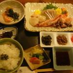 牡蠣料理 田家 - お刺み定食