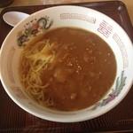 ロッジ 添路 - 料理写真:カレーラーメン
