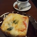 コーヒーモカージュ - パングラタンセット♪飲み物・デザート付で950円