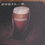 Irish Bar Craic - コースター(裏)